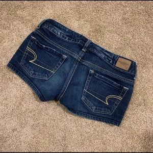 American Eagle denim shorts || size 0